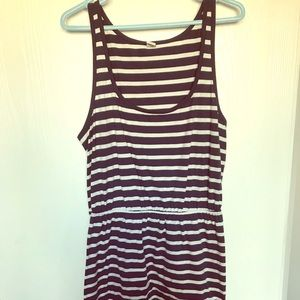 NWOT Old Navy Striped Casual Dress